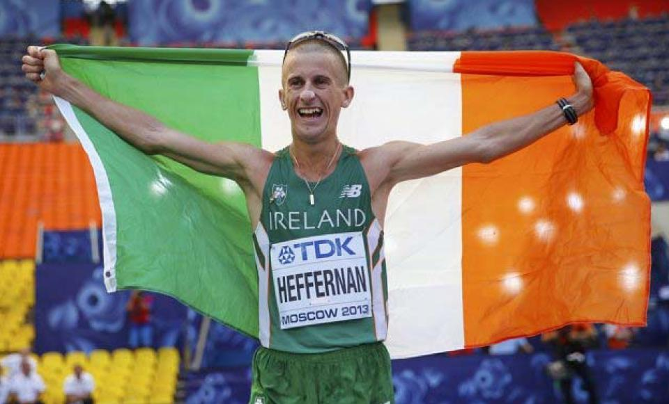 Robert Heffernan Togher A.C. WORLD CHAMPION