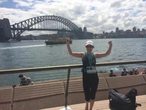 Celebrating the Marathon in Sydney