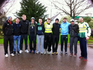 Steve with Togher AC & Bandon AC Athletes