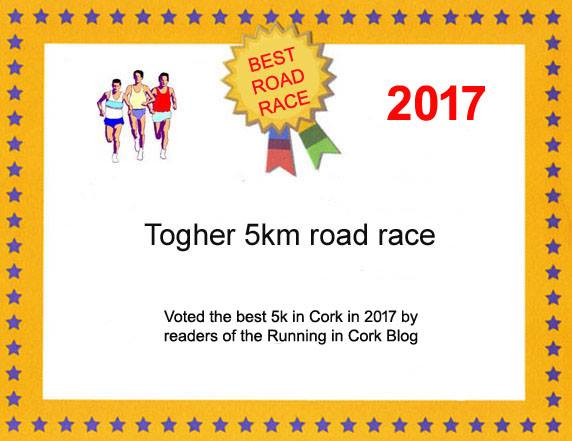 Togher AC wins best 5k race in Cork