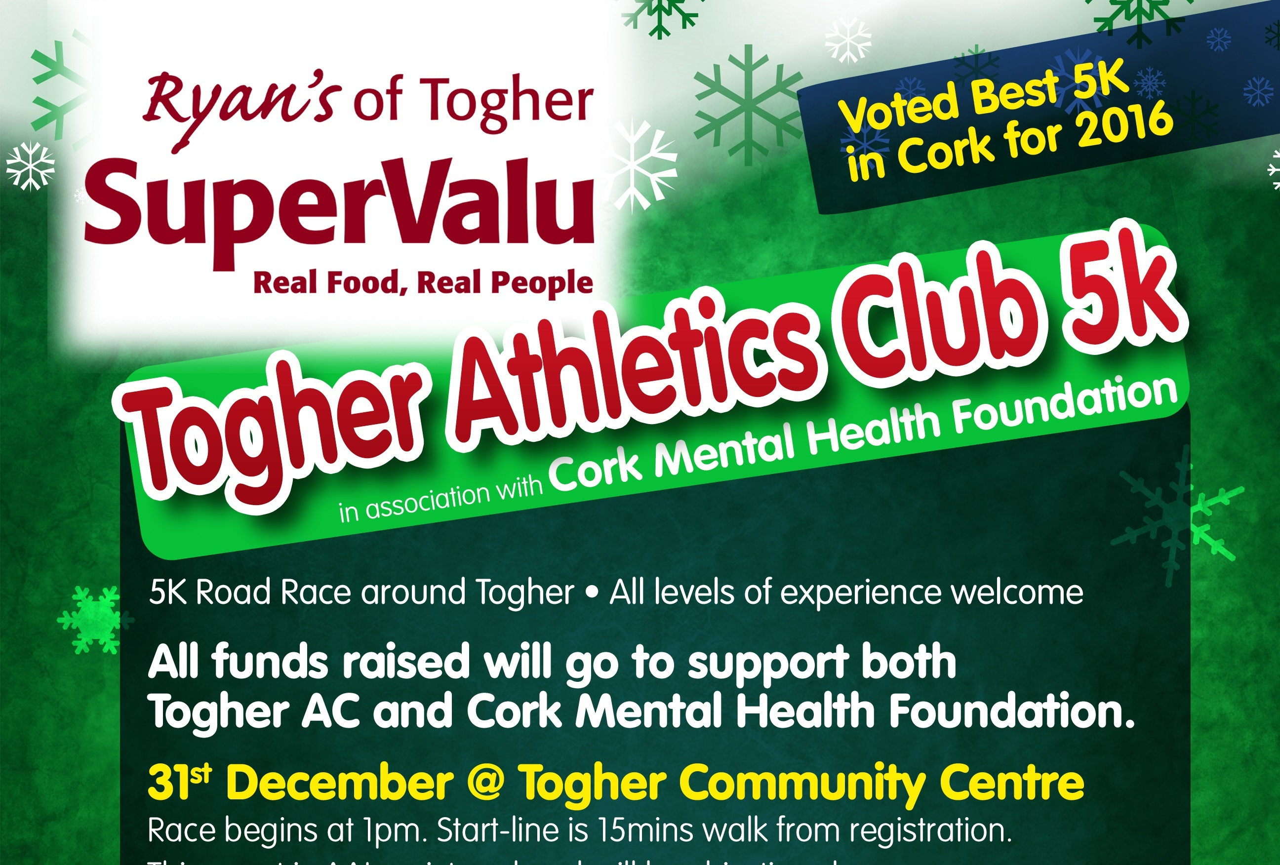 Togher 5k Road Race 31st December